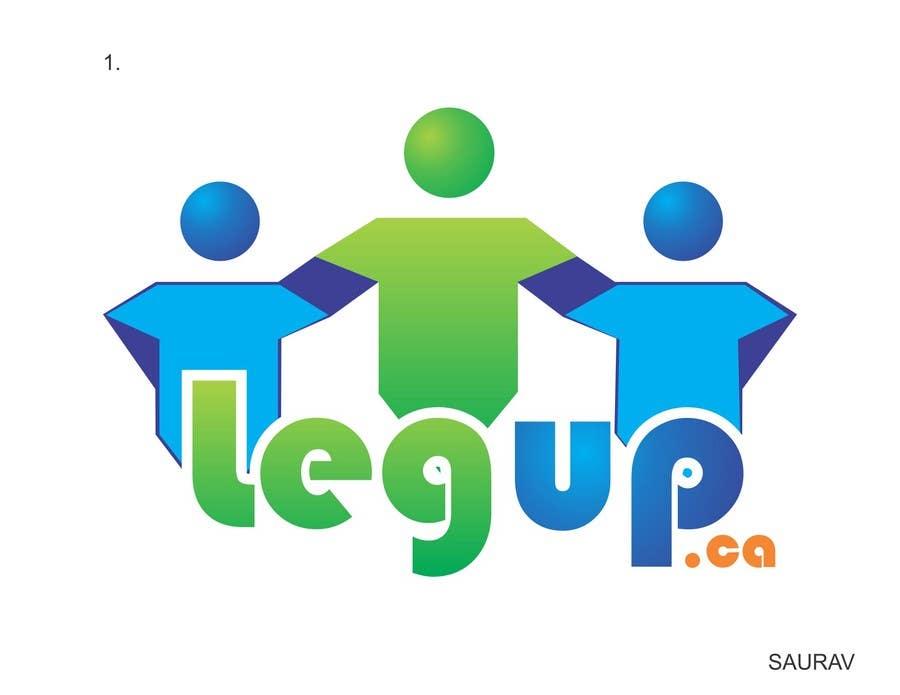 """Konkurrenceindlæg #17 for Design a Logo for Crowdfunding Site """"LegUp.ca"""""""