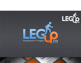 "nº 122 pour Design a Logo for Crowdfunding Site ""LegUp.ca"" par HallidayBooks"