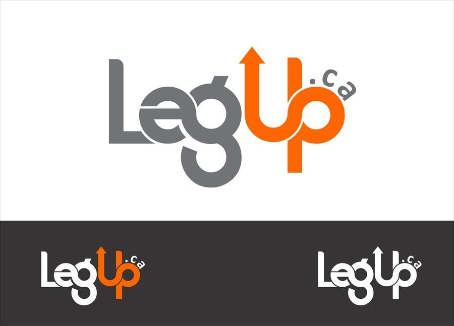 "Konkurrenceindlæg #77 for Design a Logo for Crowdfunding Site ""LegUp.ca"""