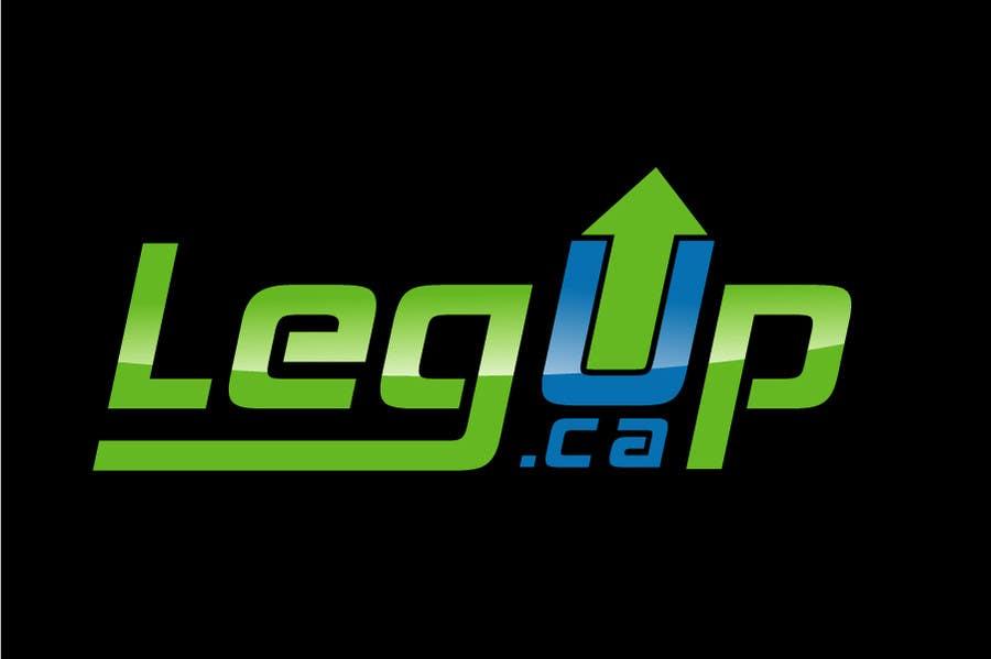 "#28 for Design a Logo for Crowdfunding Site ""LegUp.ca"" by creativdiz"