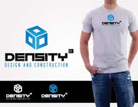 #20 para Density3 Design and Construction Logo design por mandeepkrsharma