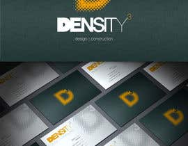 #12 for Density3 Design and Construction Logo design by HallidayBooks