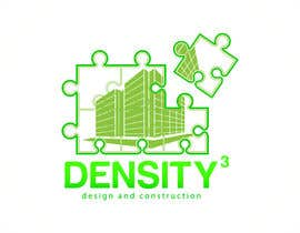#9 para Density3 Design and Construction Logo design por fatamorgana