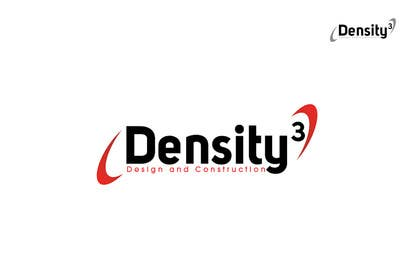 #2 para Density3 Design and Construction Logo design por iffikhan