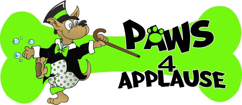 Penyertaan Peraduan #                                        60                                      untuk                                         Logo Design for Paws 4 Applause Dog Grooming