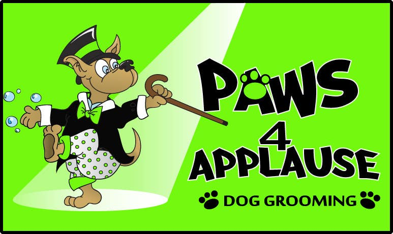 Konkurrenceindlæg #78 for Logo Design for Paws 4 Applause Dog Grooming