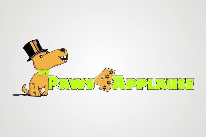 Penyertaan Peraduan #                                        35                                      untuk                                         Logo Design for Paws 4 Applause Dog Grooming