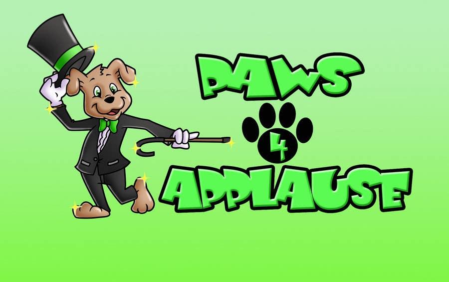 Penyertaan Peraduan #                                        99                                      untuk                                         Logo Design for Paws 4 Applause Dog Grooming