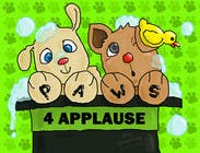 Graphic Design Contest Entry #101 for Logo Design for Paws 4 Applause Dog Grooming