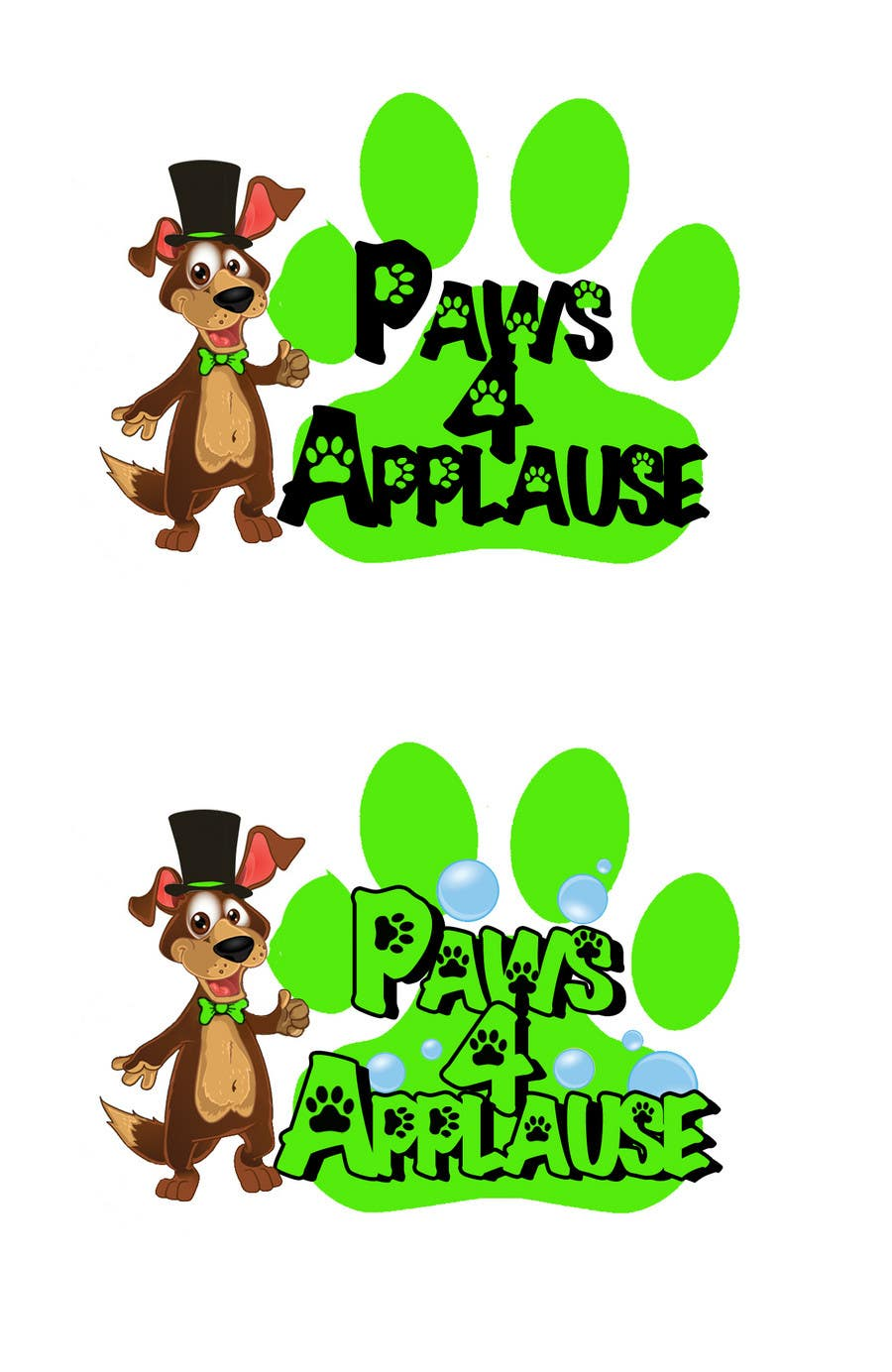 Contest Entry #103 for Logo Design for Paws 4 Applause Dog Grooming