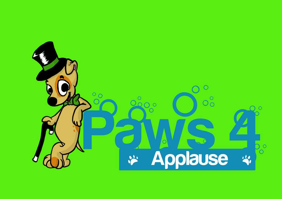 Contest Entry #54 for Logo Design for Paws 4 Applause Dog Grooming