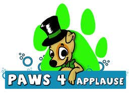 #53 für Logo Design for Paws 4 Applause Dog Grooming von Galhardo