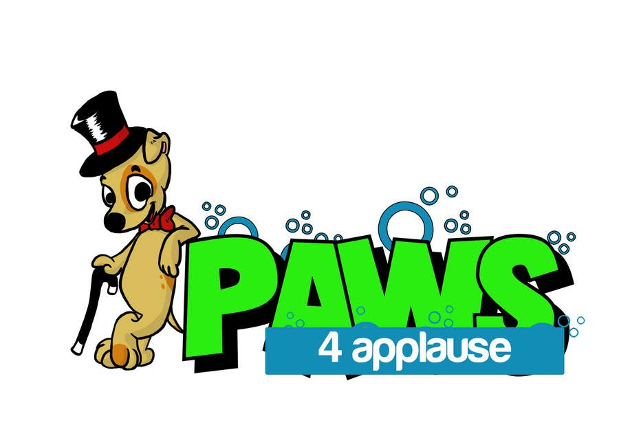 Contest Entry #34 for Logo Design for Paws 4 Applause Dog Grooming