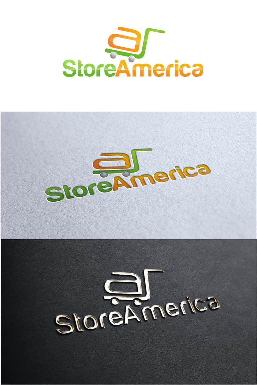 #27 for Design a Logo for store america by Djojosetjoko
