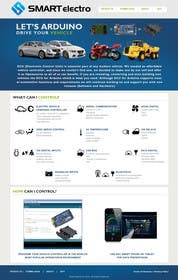 #10 for Design a Website Mockup electronics website by JosephNgo