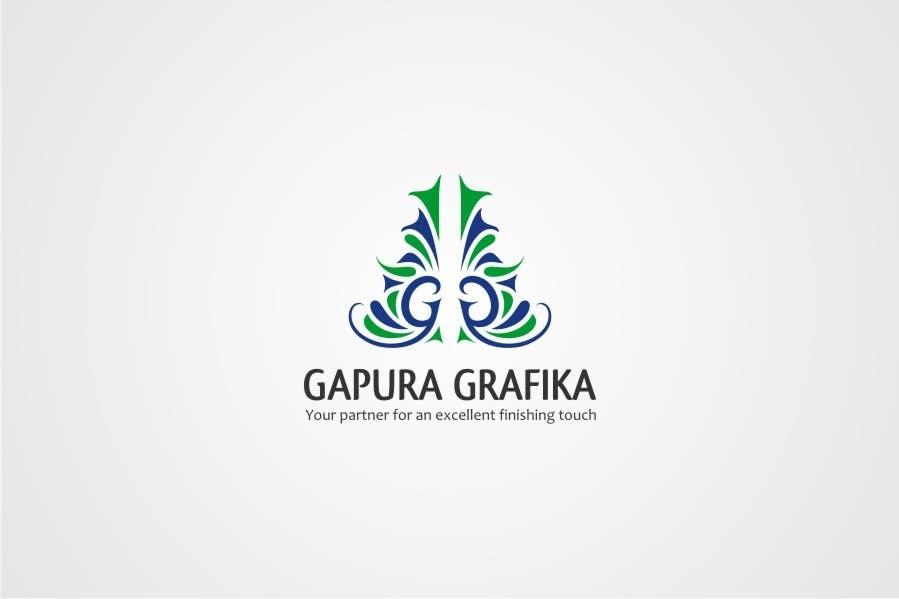 Contest Entry #                                        204                                      for                                         Logo Design for Logo For Gapura Grafika - Printing Finishing Services Company - Upgraded to $690