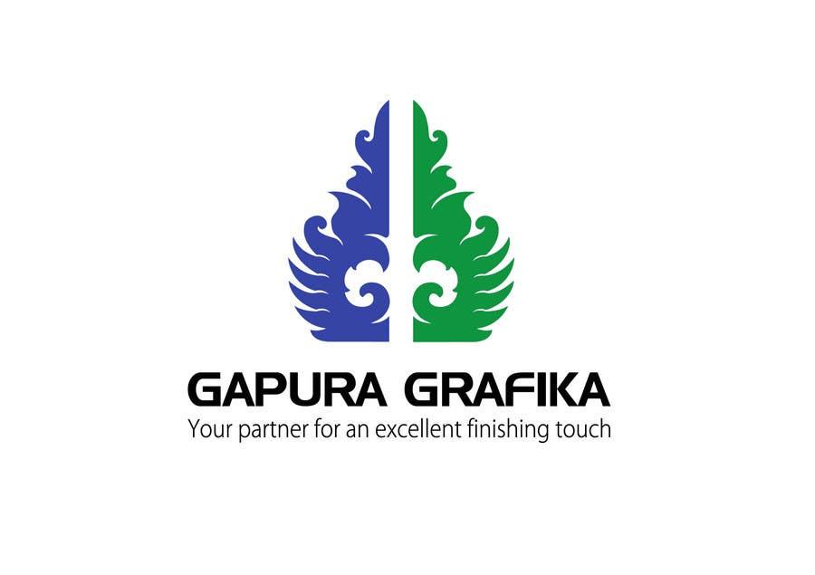 Contest Entry #                                        181                                      for                                         Logo Design for Logo For Gapura Grafika - Printing Finishing Services Company - Upgraded to $690