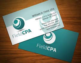 #83 untuk Business Card Logo Design for FIELD CPA oleh nojan3