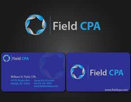 #26 untuk Business Card Logo Design for FIELD CPA oleh rashedhannan