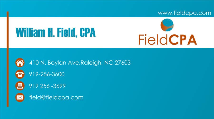 #54 for Business Card Logo Design for FIELD CPA by danapopa88