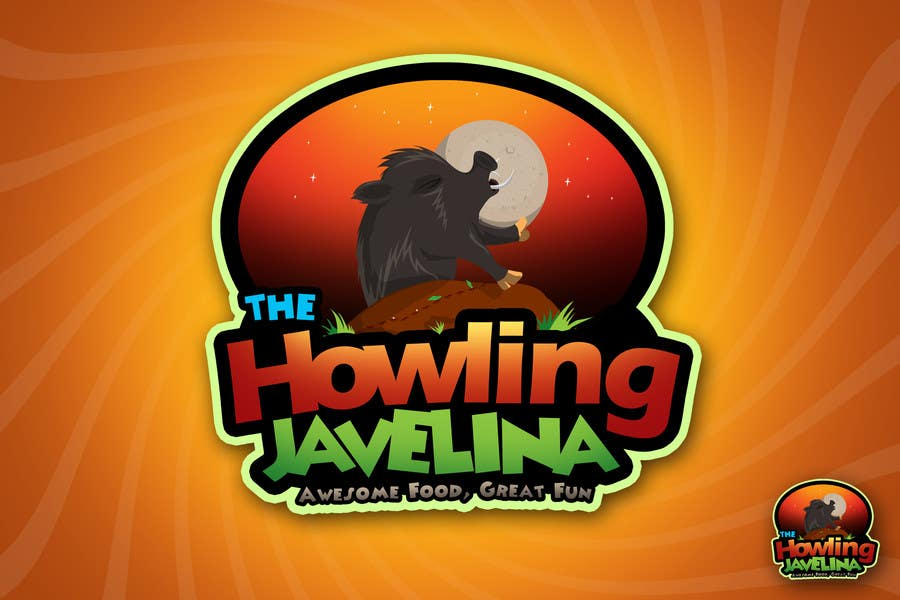 #32 for Design new logo for The Howling Javelina by rogeliobello