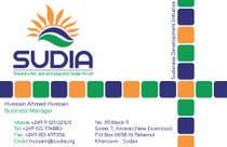 Graphic Design Contest Entry #2 for Business Card Design for SUDIA (Aka Sudanese Development Initiative)