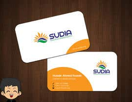 nº 88 pour Business Card Design for SUDIA (Aka Sudanese Development Initiative) par elindana