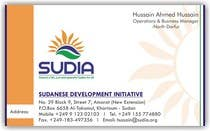 Graphic Design Contest Entry #110 for Business Card Design for SUDIA (Aka Sudanese Development Initiative)
