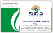 Graphic Design Contest Entry #109 for Business Card Design for SUDIA (Aka Sudanese Development Initiative)