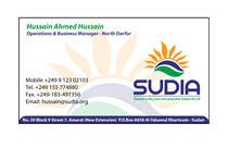 Graphic Design Конкурсная работа №82 для Business Card Design for SUDIA (Aka Sudanese Development Initiative)
