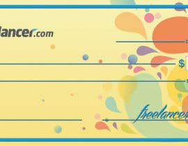 #25 for Design a novelty check for Freelancer.com af QCB