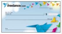 Design a novelty check for Freelancer.com için Graphic Design2 No.lu Yarışma Girdisi