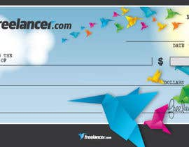 #30 for Design a novelty check for Freelancer.com af GeorgeOrf