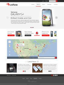 #45 for Design a strongly branded Mobile Phone Content Website by elshahat