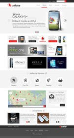 #86 for Design a strongly branded Mobile Phone Content Website by elshahat