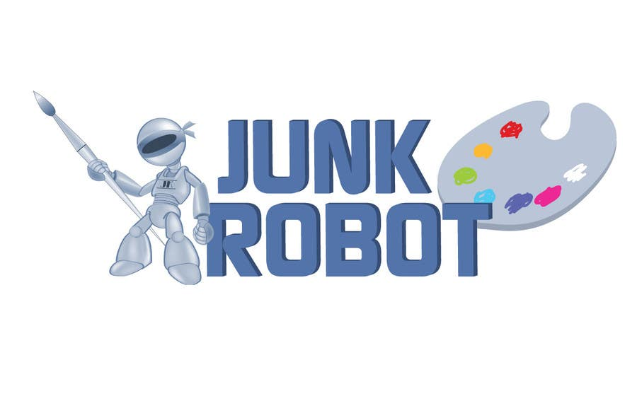 #18 for Design a Logo for JunkRobot by chithrarahul