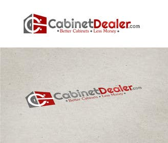#37 for Design a Logo for CabinetDealer.com by putul1950