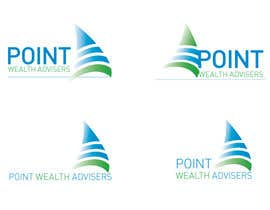 #43 para Logo Design for Point Wealth Advisers por neriomones