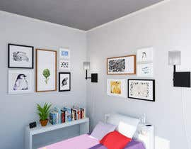#33 for Ideas for bedroom wall art by Eugenija
