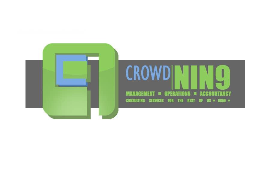Inscrição nº                                         420                                      do Concurso para                                         Logo Design for CrowdNin9