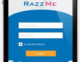 #4 for Design an App Mockup for RazzMe by Tezshekhawat