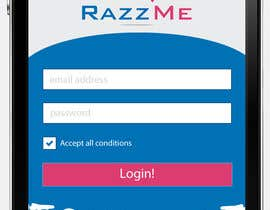 #8 for Design an App Mockup for RazzMe af Tezshekhawat