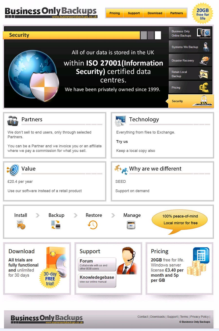 #3 for Homepage revamp and build (single page) by seguro