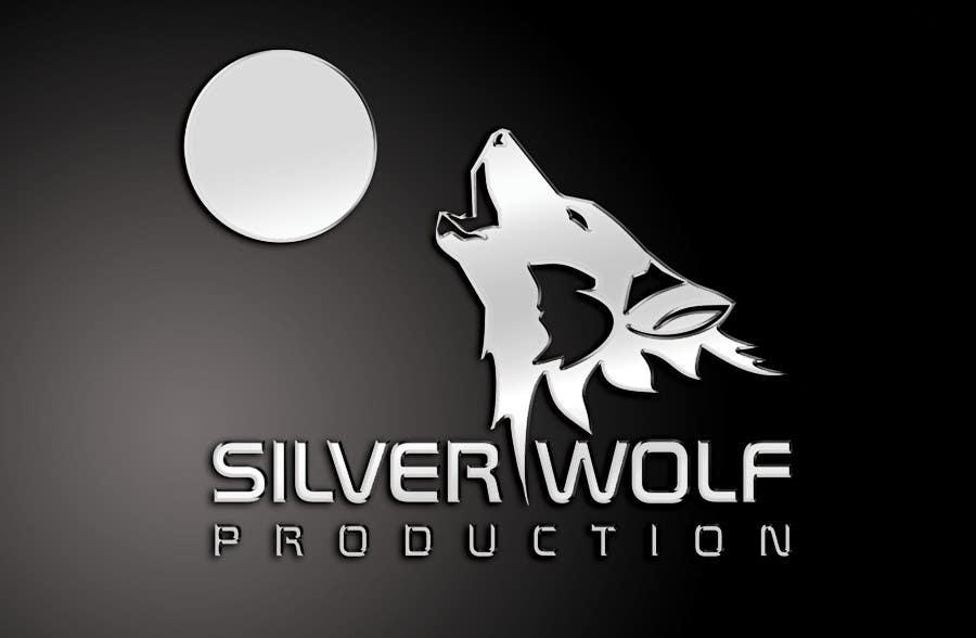 Penyertaan Peraduan #467 untuk Logo Design for Silver Wolf Productions