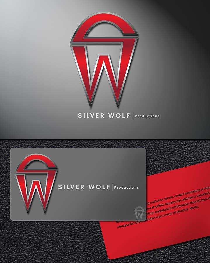 Penyertaan Peraduan #432 untuk Logo Design for Silver Wolf Productions