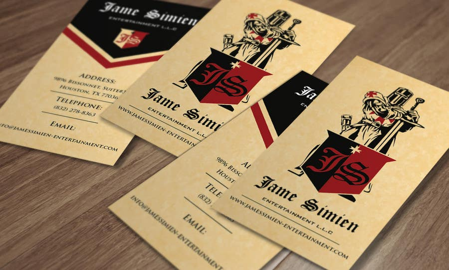 Inscrição nº 7 do Concurso para Design Business Cards, Letter head, Email footer