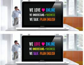 #60 untuk Text design for website banners oleh zetabyte