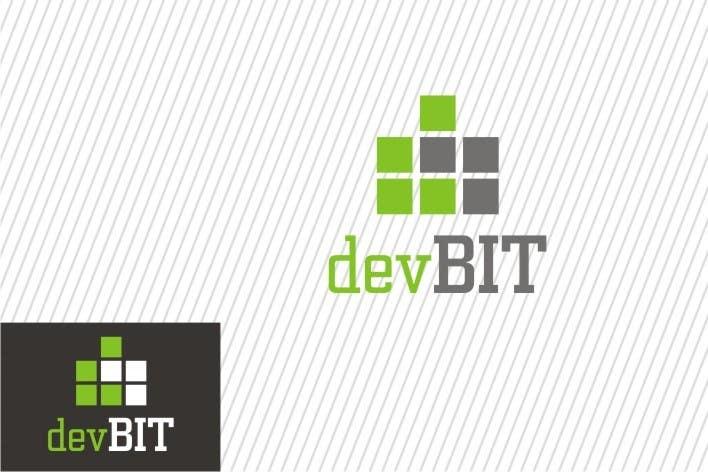 #123 for Design a logo for devBIT by sharpminds40