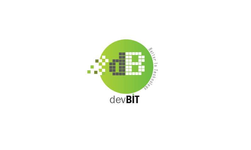 #124 for Design a logo for devBIT by kgameart