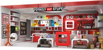 Contest Entry #3 for 3D Interior Design For A Novelty Lifestyle & Gifts Retailer Shop